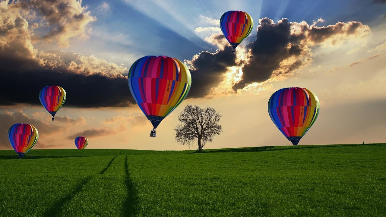balonem w kawalerski