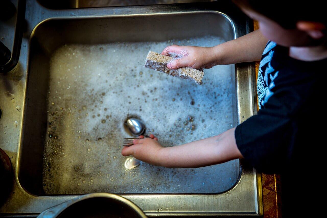 koniec z recznym myciem - zmywarka